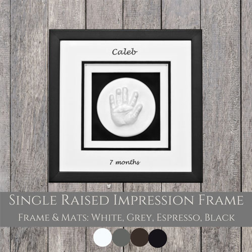 Single Window Raised Impression Frame