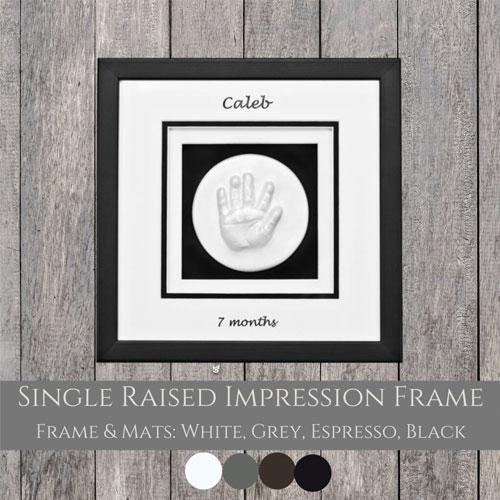 Single Window Raised Impression Frame