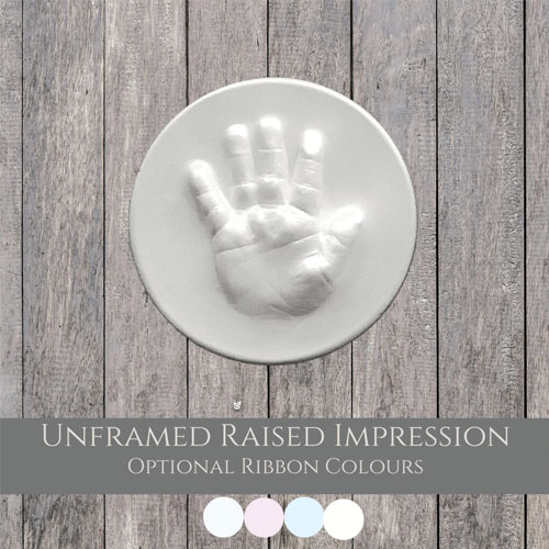 Unframed Raised Impression