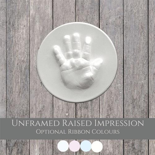 Unframed Raised Impression