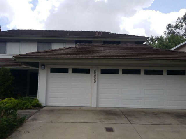 Broken roof tile repair orange county