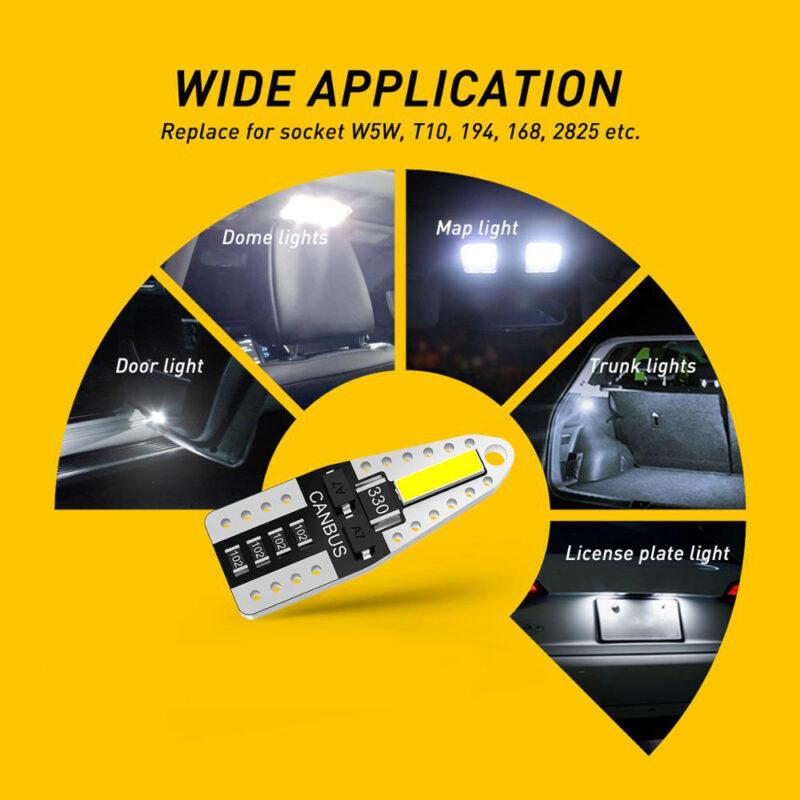 T10 LED License Plate