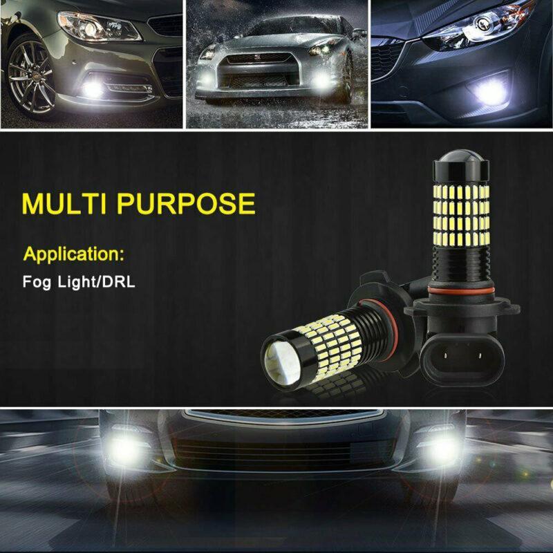 LED Fog Lights DRL Function