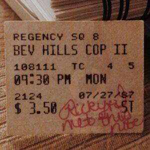 Movie Ticket - The Night We Met!