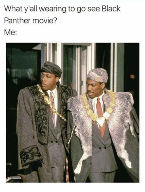 Black Panther Movie Meme