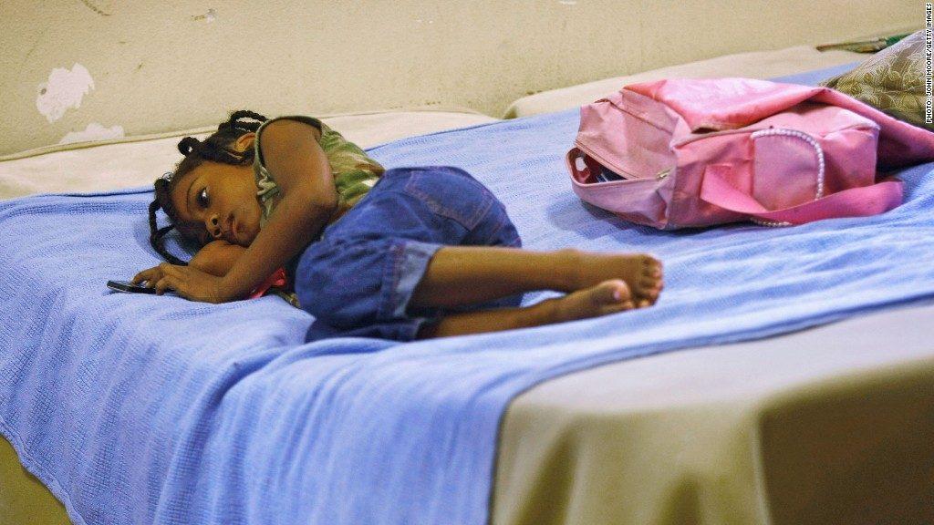 homeless black girl