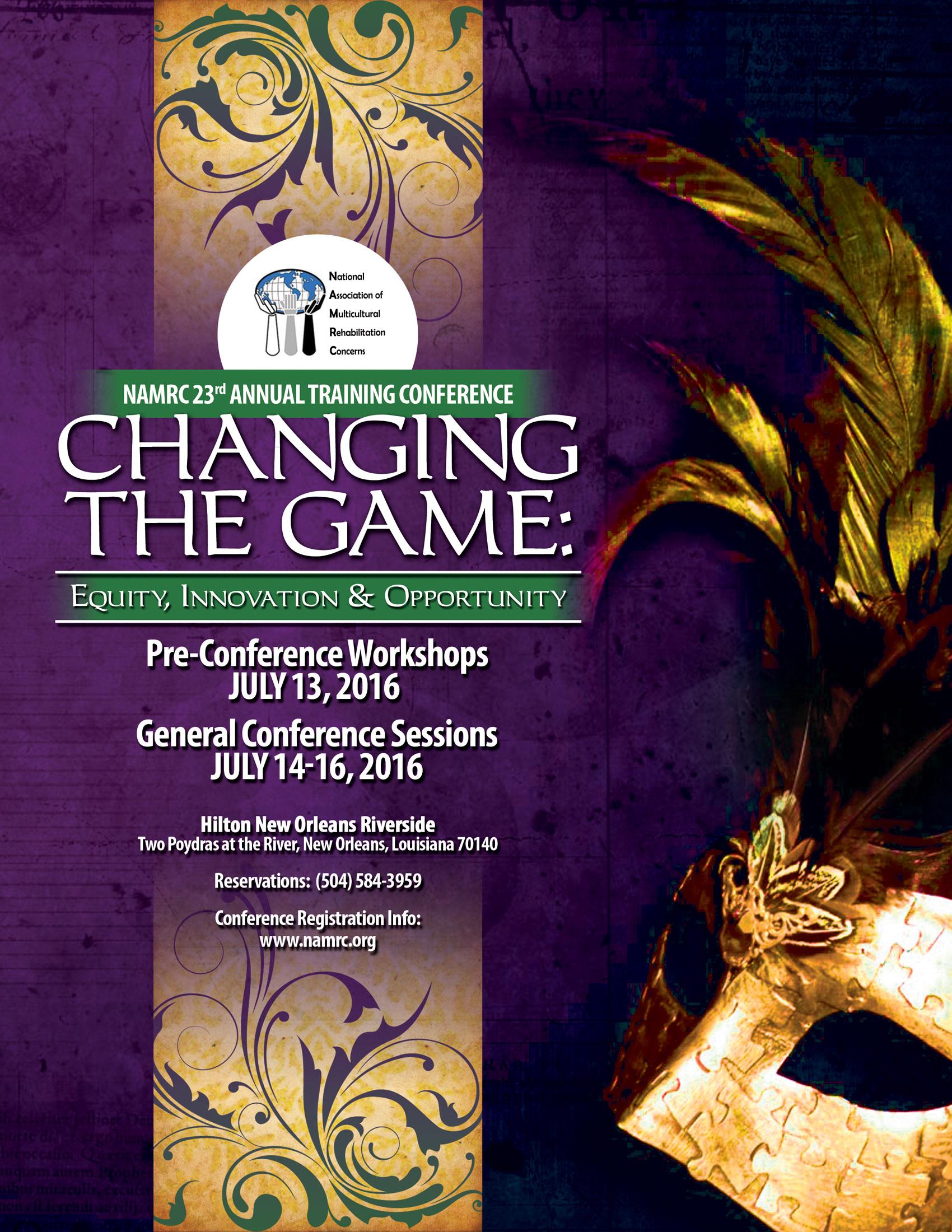 2016 NAMRC Conference Main Art