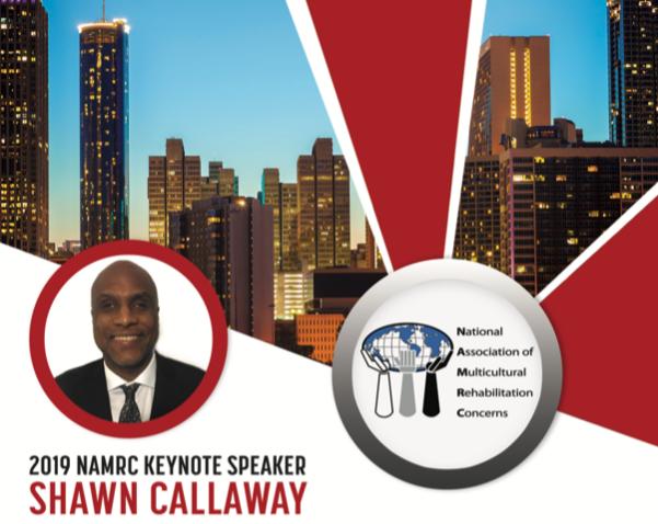 NAMRC 2019 Keynote Speaker Shawn Callaway Flyer
