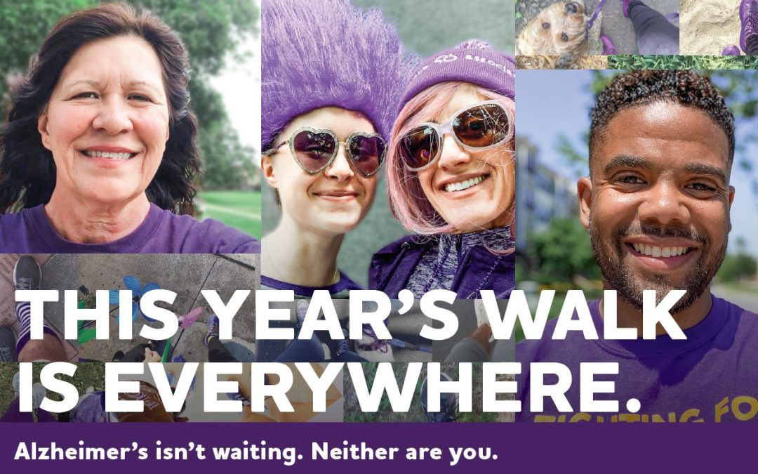 Legacy Care to Sponsor Virtual 'Walk to End Alzheimer's' Event