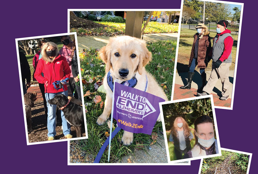 Legacy Care Walkers Supported Walk to End Alzheimer's Event