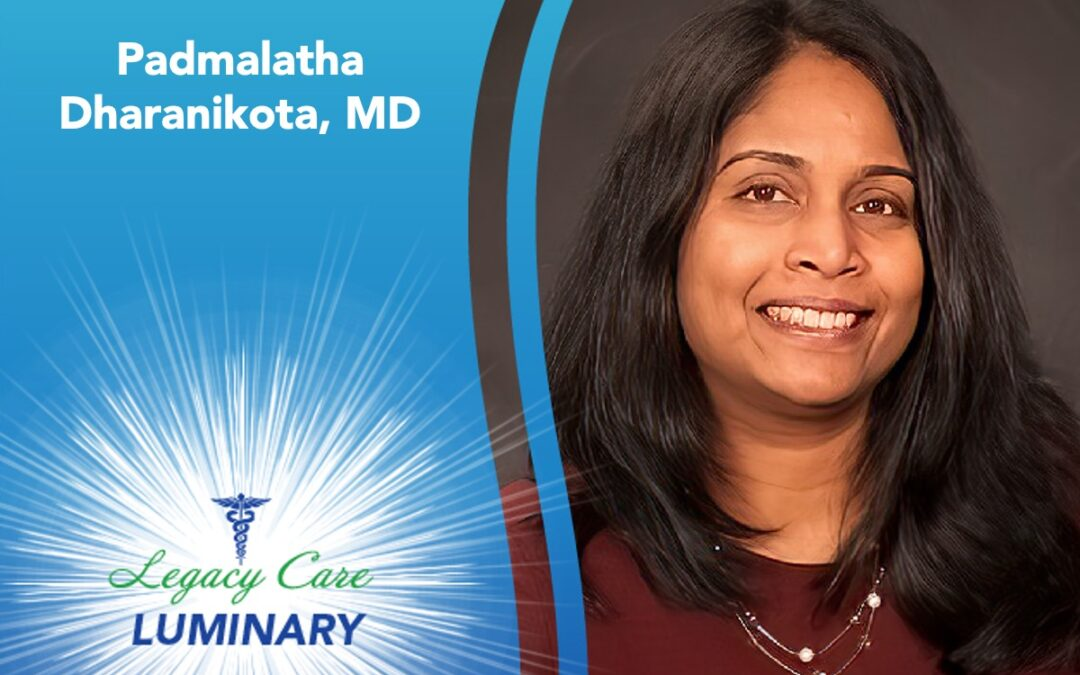 Padmalatha Dharanikota, MD, Earns American Medical Director Certification