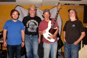 Nick DiCecco, Marc Gallo, Chico Huff, Chris Gately (L to R)