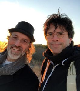 Marc & Charles at a shoot in LBI, NJ