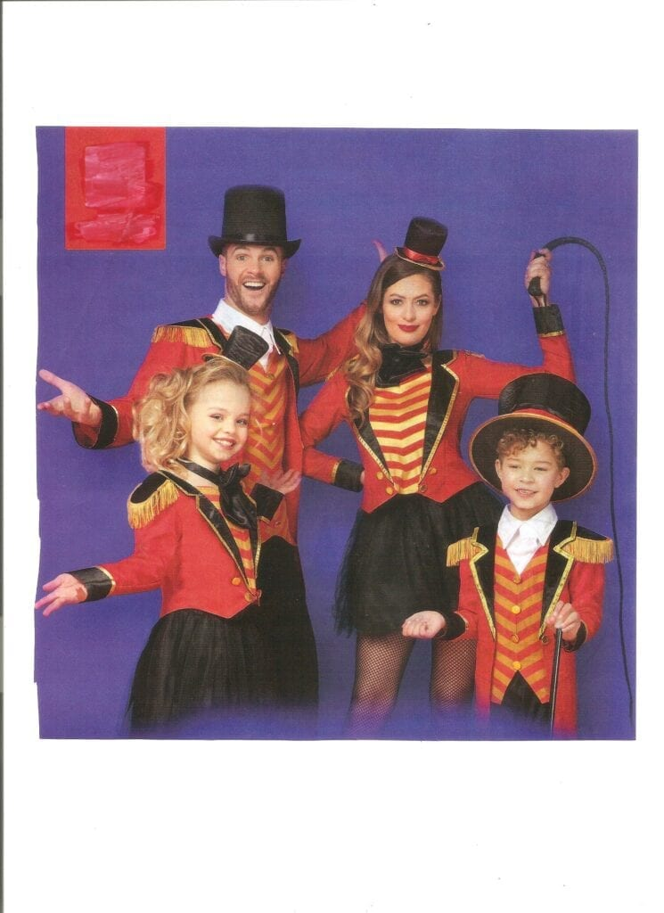 Hire circus performers and Ringmaster Magician for a carnival themed party