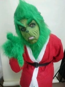 Hire THE GRINCH, Party Character