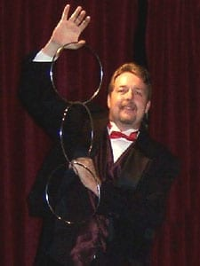 Jeff Blake expert magician. CHICAGO'S BEST FAMILY MAGICIANS! (773) 776-0800 and (800) 762-8863 Yes, We are Doing Live Shows 90 minutes with colorful balloon twisting - $200