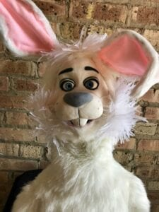Hire Easter Bunny puppet with Kids Party Magician. 90 minutes $250