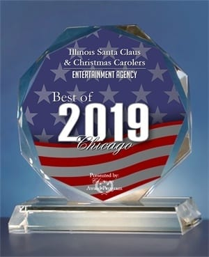 Award for Best Santa Claus And Christmas Carolers Entertainment Agency