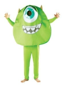 Hire the eyeball, Mike Wazowski, a Monsters Inc style character.