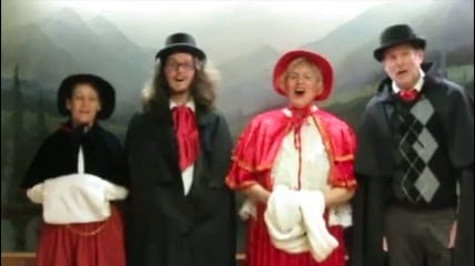 Hire Victorian Carolers Chicago (773)776-0800