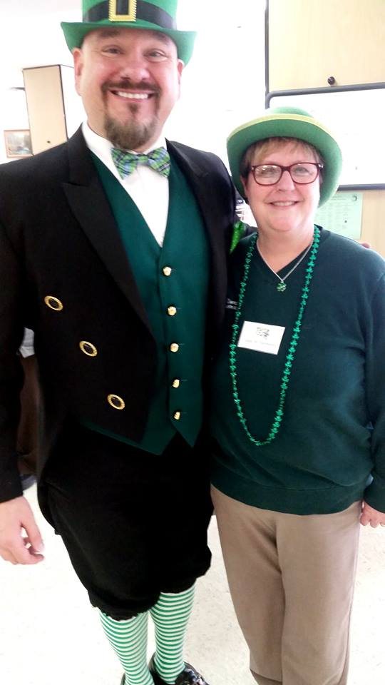 """Providing Irish Magicians and Storytellers ☘️  The Legend of the Leprechaun is alive and well and perfect for St. Patrick's Day revelers. Legend says: The person who captures the little fellow and got his """"Pot O Gold"""" 90 minutes -$200 with balloon twisting"""