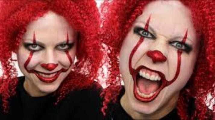 Have your own Creepy Clown sighting, arranged by YOU! eerie, sinister ghostly, weird, frightening, hair-raising, terrifying, petrifying, chilling - CREEPY CLOWN $125.
