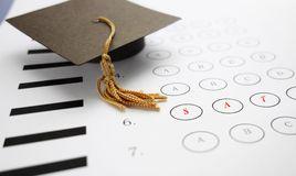 sat-exam-multiple-choice-mini-graduation-cap-47044907