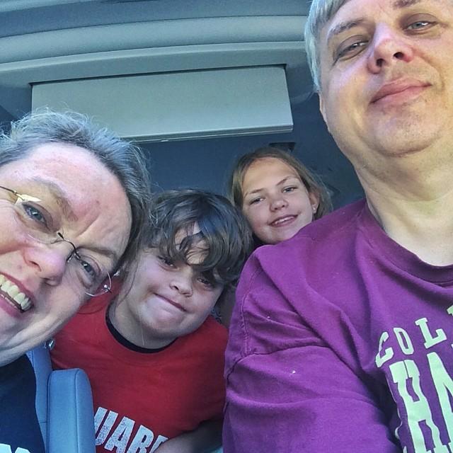 The journey begins. 10am. #usa #journey #roadtrip #acrosscountry #family #familytrip #trip #driving #clt #plazamidwood #northcarolina #louisville #kentucky