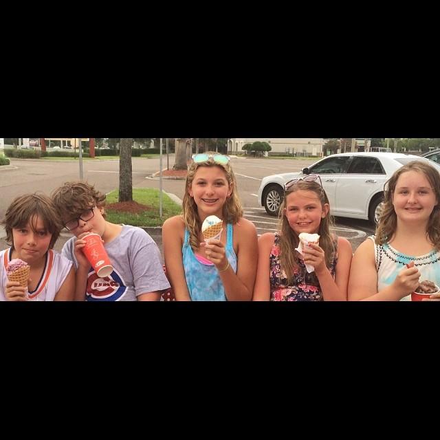 Fourth of July Ice Cream