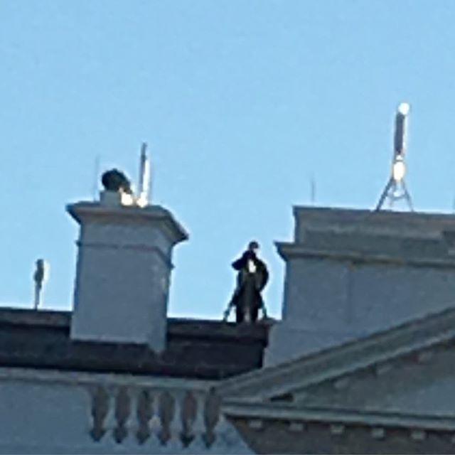 White House Sniper #washingtondc