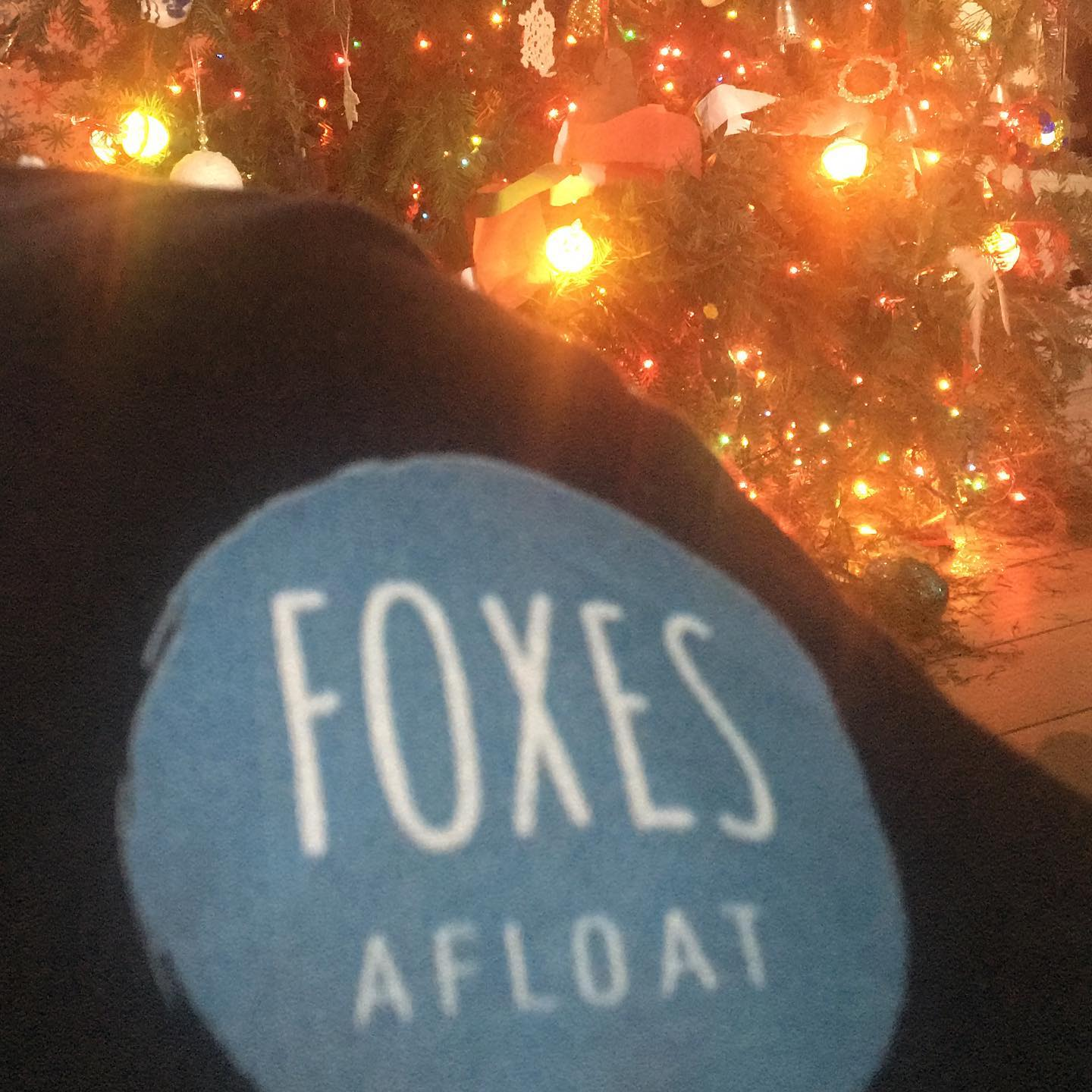 My favorite gift this year is a t-shirt from London- @foxesafloat