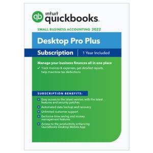 QuickBooks Desktop Pro Plus 2022