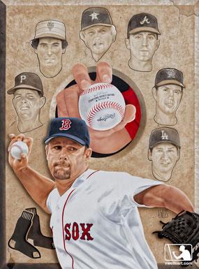 Tim Wakefield Painting
