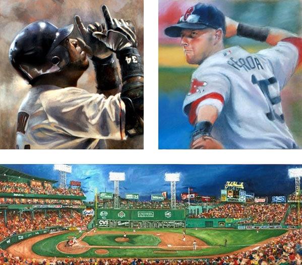Baseball Art Main Header
