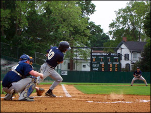 Terry Belli of the Middlesex Brewers at the 2006 Cooperstown Classic