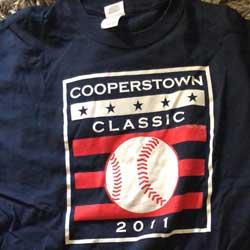 2011 Cooperstown Tee Shirt