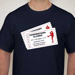 2013 Cooperstown Tee Shirt