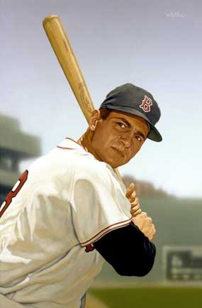 Arthur K. Miller, Carl Yastrzemski of the Boston Red Sox