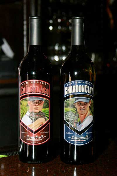 Clay Buchholz and Jon Lester Charity Wines