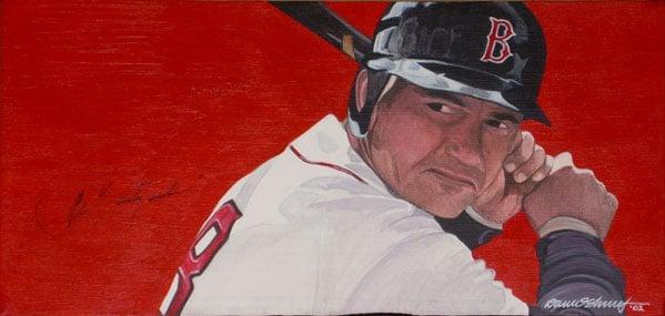 Dave Shorey, Carl Yastrzemski of the Boston Red Sox
