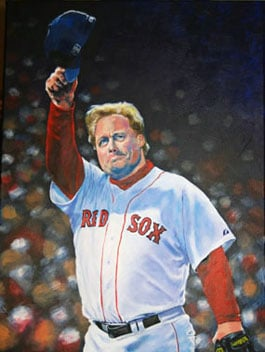 """Kevin McNeil, Curt Schilling of the Boston Red Sox: """"Last Pitch"""""""