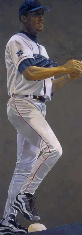 "Susan Miller-Havens, Pedro Martinez, Boston Red Sox: ""Pride and Determination"""