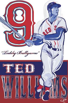 Chris Deroy, Ted Williams