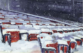 Mark Waitkus, Fenway Winter Blues