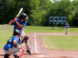 Charlotte All-Stars Batter in Cooperstown