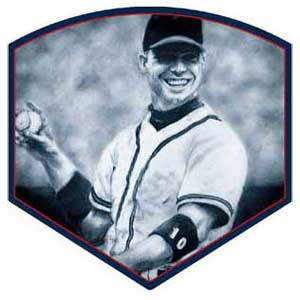 Chipper Jones art