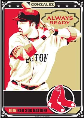 "Chris Speakman, Adrian Gonzalez of the Boston Red Sox: ""Always Ready"""