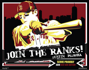 "Chris Speakman, Dustin Pedroia of the Boston Red Sox: ""Join the Ranks"""