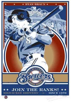 "Chris Speakman, Ryan Braun of the Milwaukee Brewers: ""Join the Ranks"""