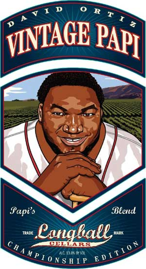 David Ortiz, Vintage Papi wine